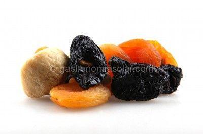 deshidratar frutas