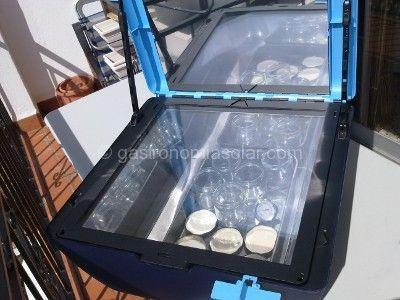 esterilizar frascos horno solar